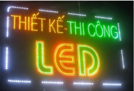 Thi công bảng hiệu quảng cáo tại TPHCM